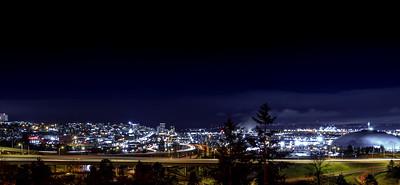 """Night Lights of Tacoma II"""