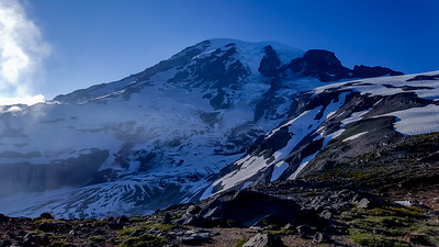 """Mount Rainier from 7040-Foot Level"""