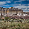 Rock Formations in New Mexico near Abiquiu