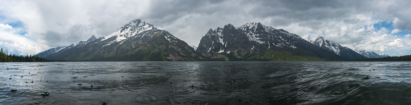 Grand Teton Showers