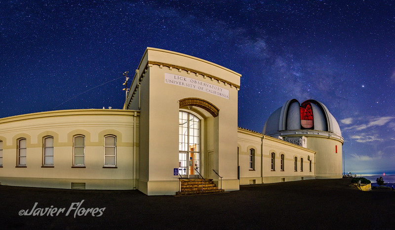 Mount Hamilton Lick Observatory