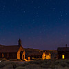 Bodie at night