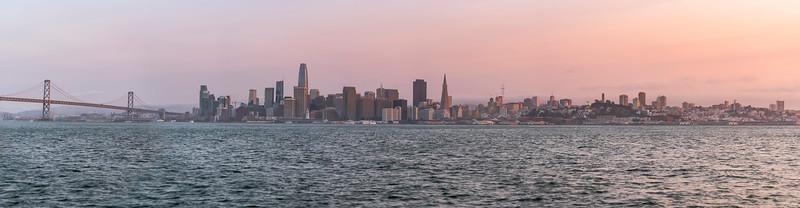 SF Skyline Pano