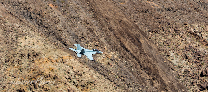 F/18 Super Hornet Low Pass