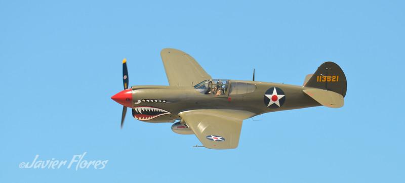 Panoramic of P40 Warhawk