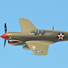 Panoramic of P40 Warhawk