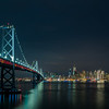 Bay Bridge with San Francisco Skyline