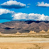 Panoramic of Trona Pinnacles