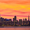 Golden Sunset Over San Francisco