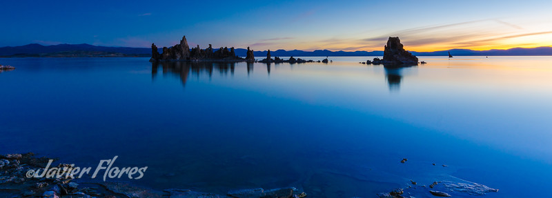 Mono Lake Sunrise Panoramic