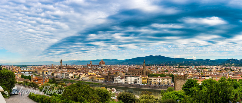 Florence Italy Panoramic