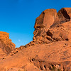 Moon Over Valley of Fire