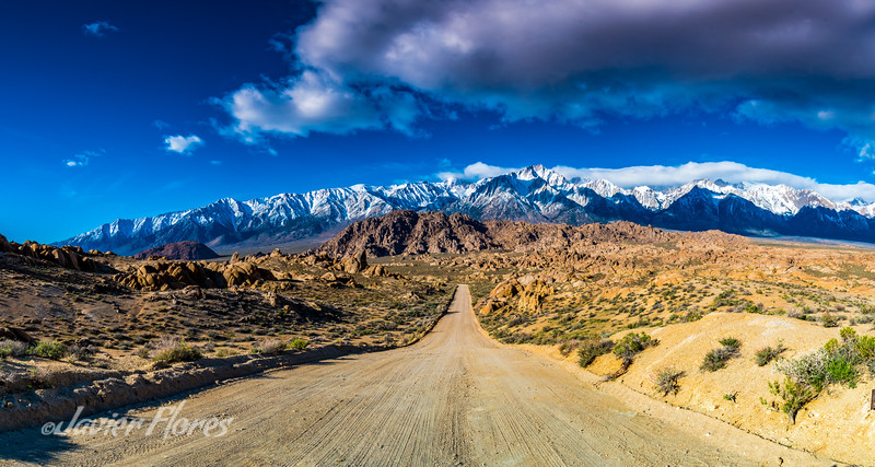 Alabama Hills Dirt Road