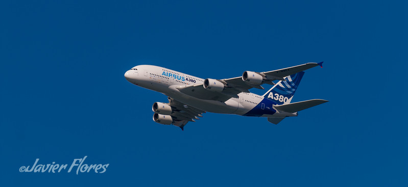 The firts Airbus A380