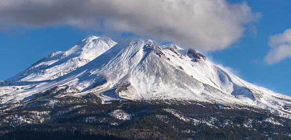 Majestic Mount Shasta