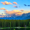 Canadian Rockies Sunset