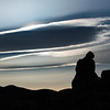Trona Pinnacles Silhoutte