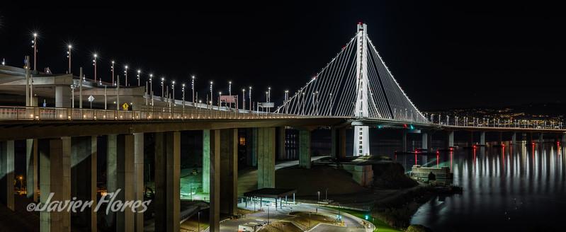 Oakland Bridge panoramic