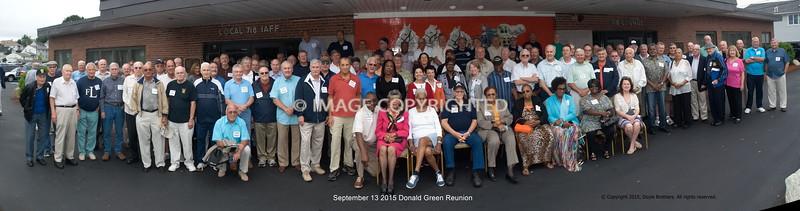 Donald Green Reunion September 2015