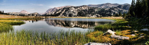 Lake on Montana's Beartooth Plateau