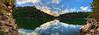 """Play Spot Panorama At Laurel River Lake, 30"""" X 90"""""""