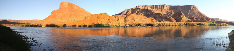 """a river runs"" Colorado river, Utah N.E. of Moab"