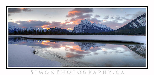 April 2nd, Vermillion Lake sunrise.