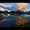 Sunset over Rundle, Nov 8th, 2010