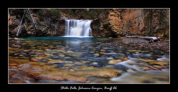 Stella Falls, Banff, Ab.