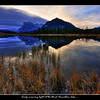 Early morning light from the back of the third Vermillion Lake.