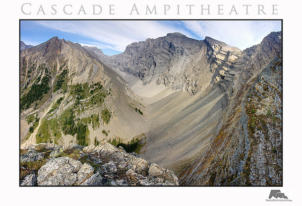 Cascade Ampitheatre, on the way back down from the summit
