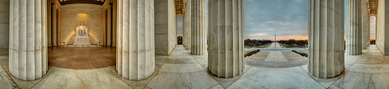 Lincoln Memorial Early Morning