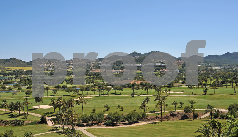 La Manga Club Hotel and Communities viewed from the North Course