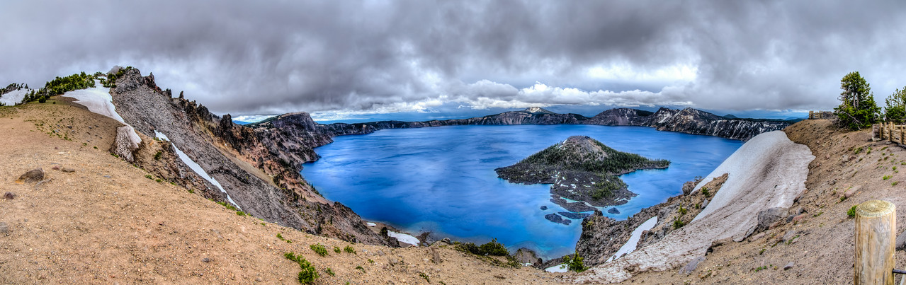 Crater Lake HDR Panorama