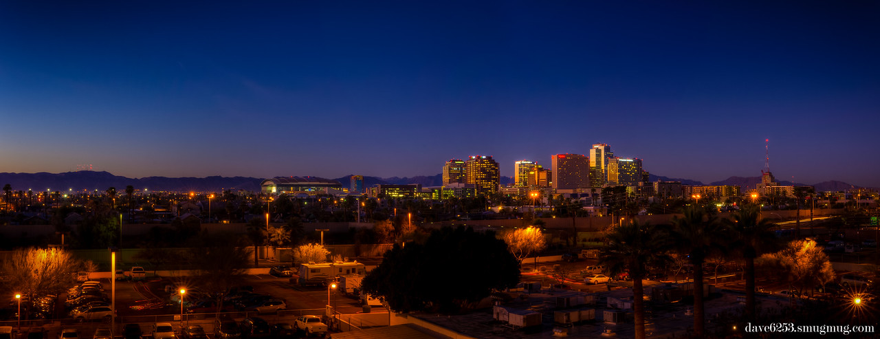 City of Phoenix Skyline