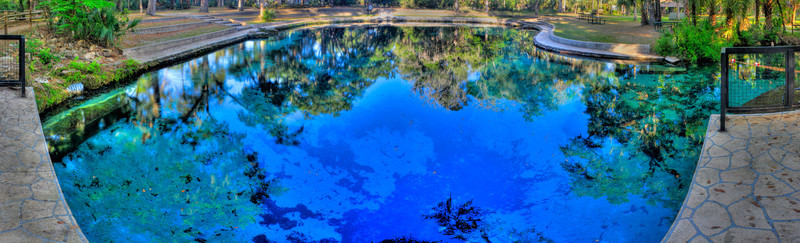 Most Amazing Place<br /> (Apr 4) Juniper springs is the most amazing place I have kayaked so far.  The beauty and isolation of the run is what makes it so great.  Far from any city or road you wind and twist your way on the quick river lost in a wilderness as vast as  Ocala National Forest's 607 square miles.  It is the first National Forest east of the Mississippi and one of Florida's last remaining traces of forested land.  Truely a magically place.