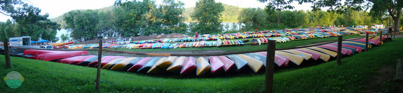 The Wait<br /> All the paddle boats awaiting for launch at Paddlefest 2011.
