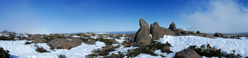 Top of Mt Wellington, Tasmania