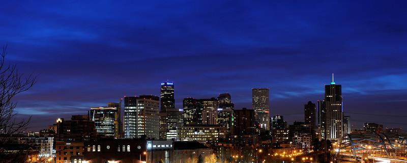 """""""Lodo Dawn"""" Downtown Denver"""