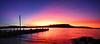 Sunset , Tasmania