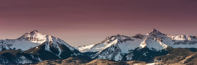 Wilson Peak Uncompahgre National Forest Telluride Colorado