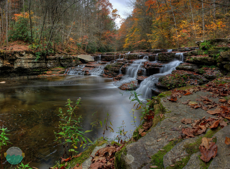 Campbell Falls<br /> A panoramic view of Campbell Falls located in West Virginia.