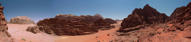 Hidden Dunes of the Wadi Rum
