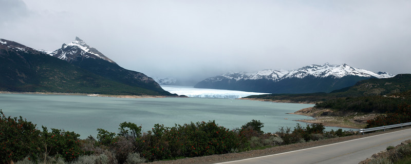 Perito Moreno In The Distance