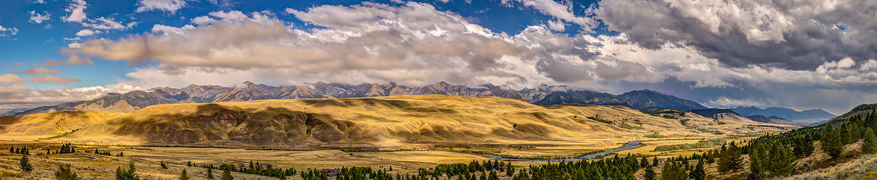 Madison Range 7 Panel Pano