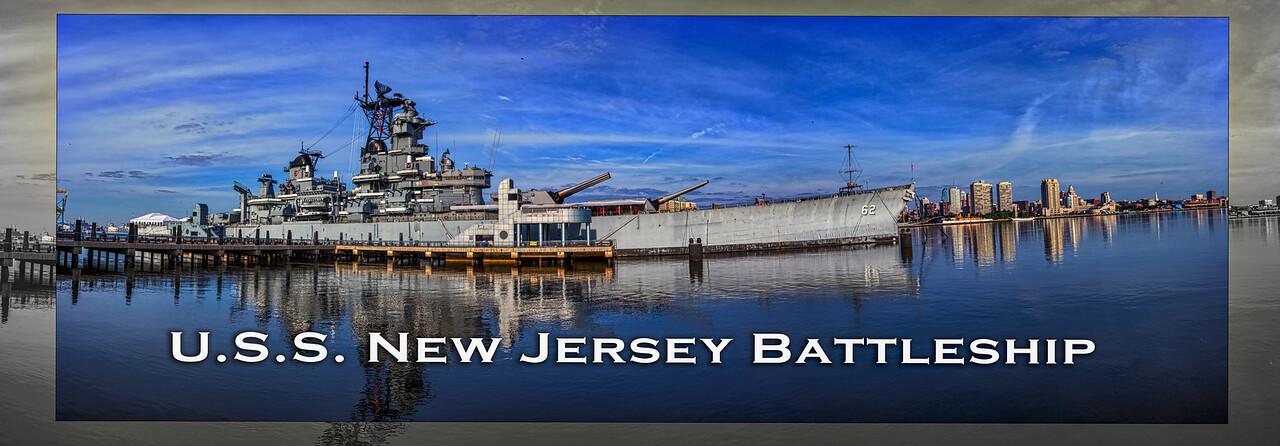 U.S.S. New Jersey Battleship, Camden New Jersey