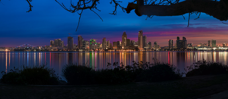San Diego Morning Lights