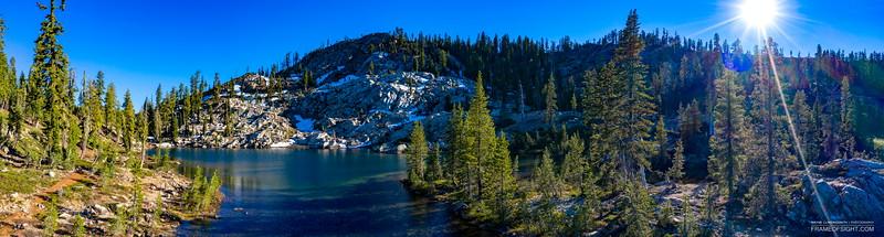 Dear Lake at Sierra Buttes, CA