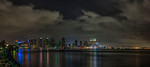 Skyline San Diego 5 Panel Pano