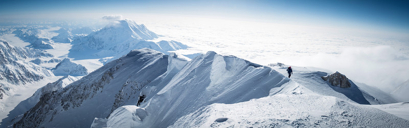 Denali Summit with Mt Foraker